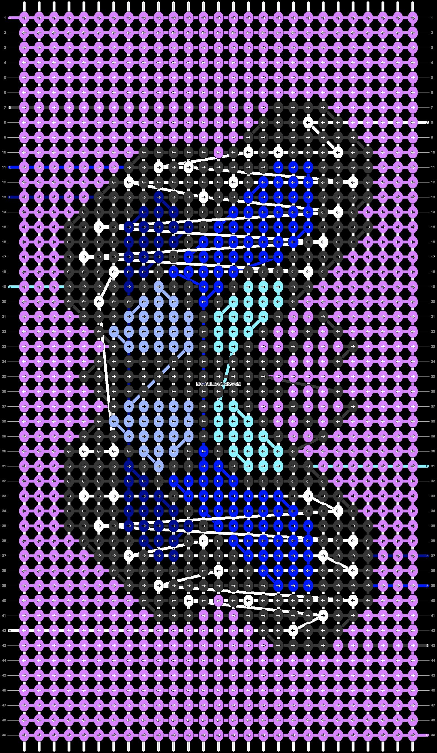 Alpha pattern #83079 pattern