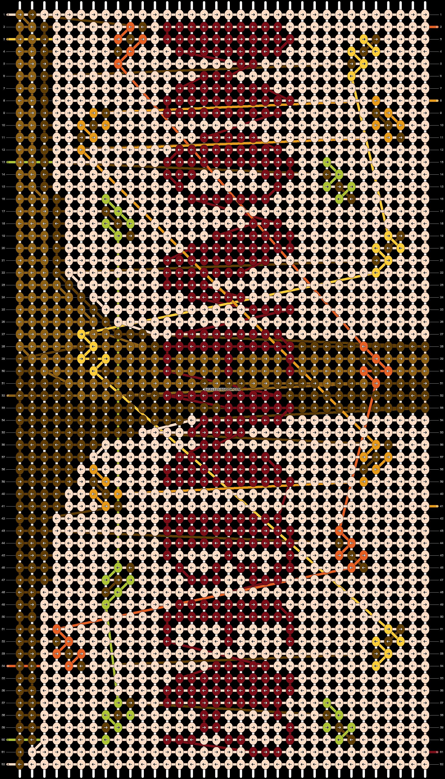 Alpha pattern #83084 pattern
