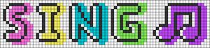 Alpha pattern #83085