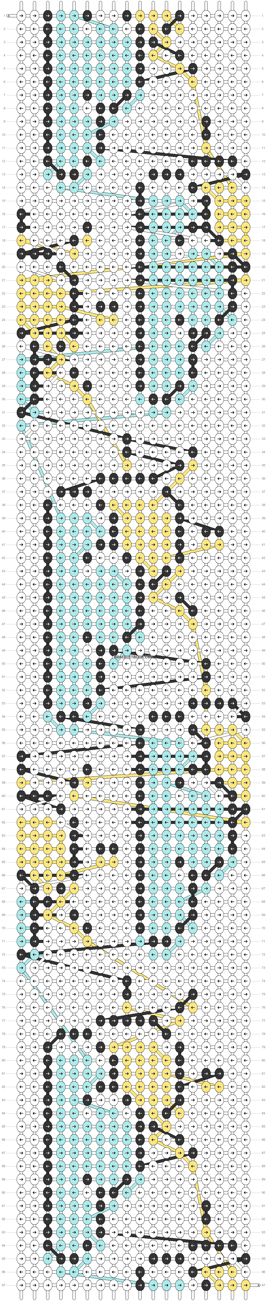 Alpha pattern #83097 pattern