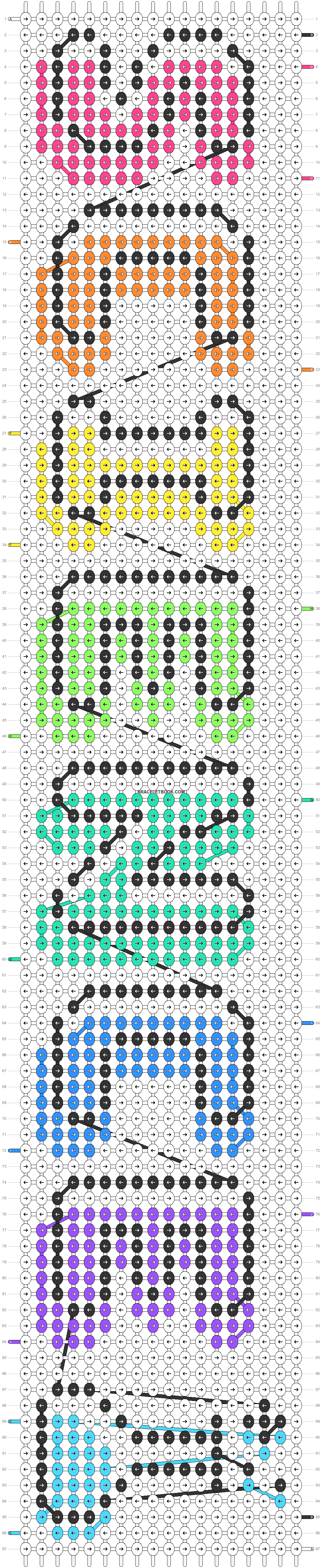 Alpha pattern #83098 pattern