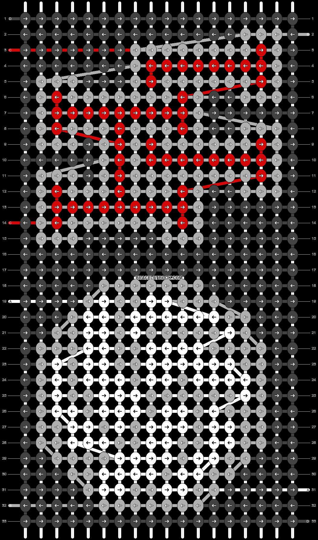 Alpha pattern #83124 pattern