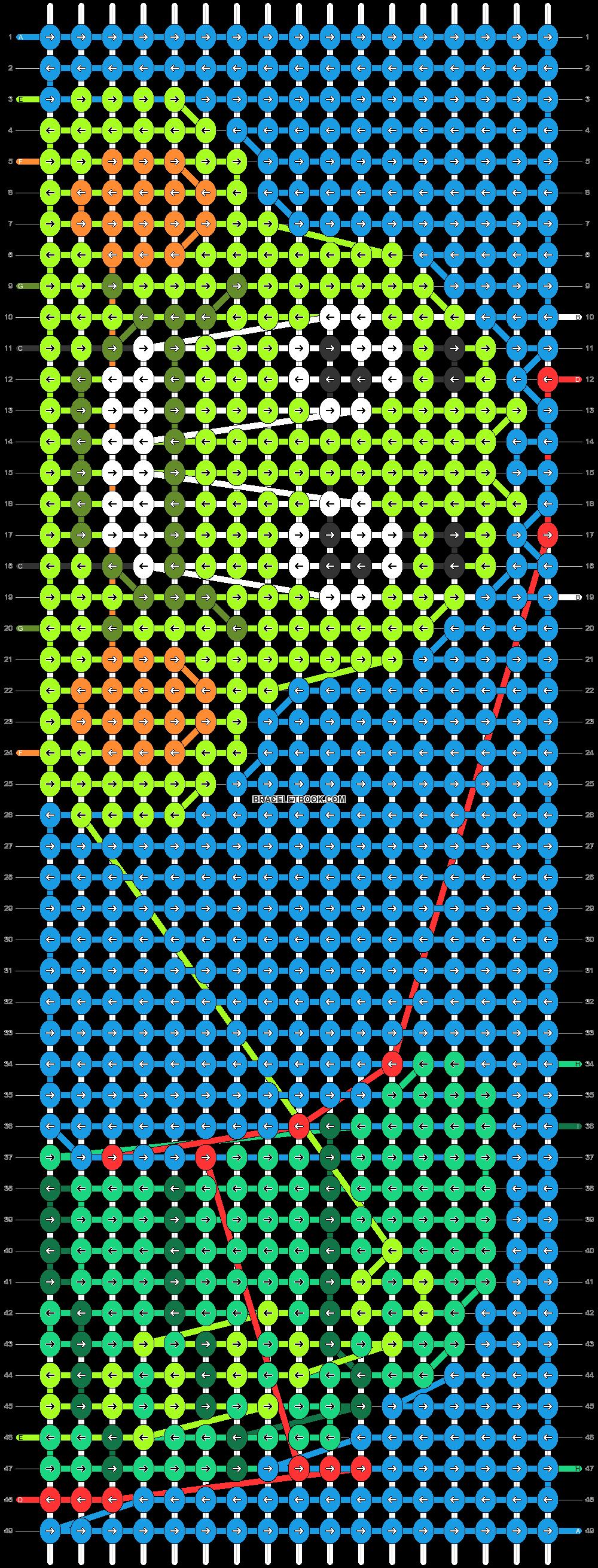 Alpha pattern #83127 pattern