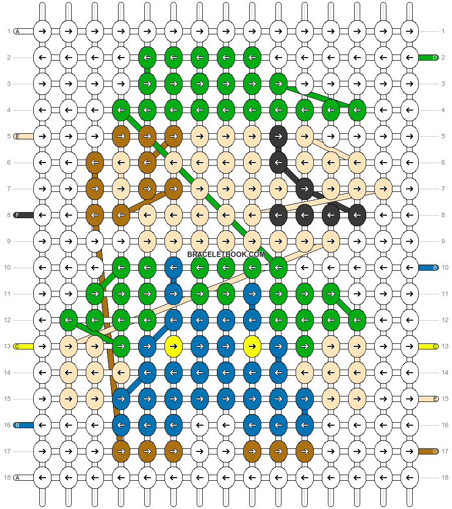 Alpha pattern #83131 pattern