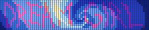 Alpha pattern #83136
