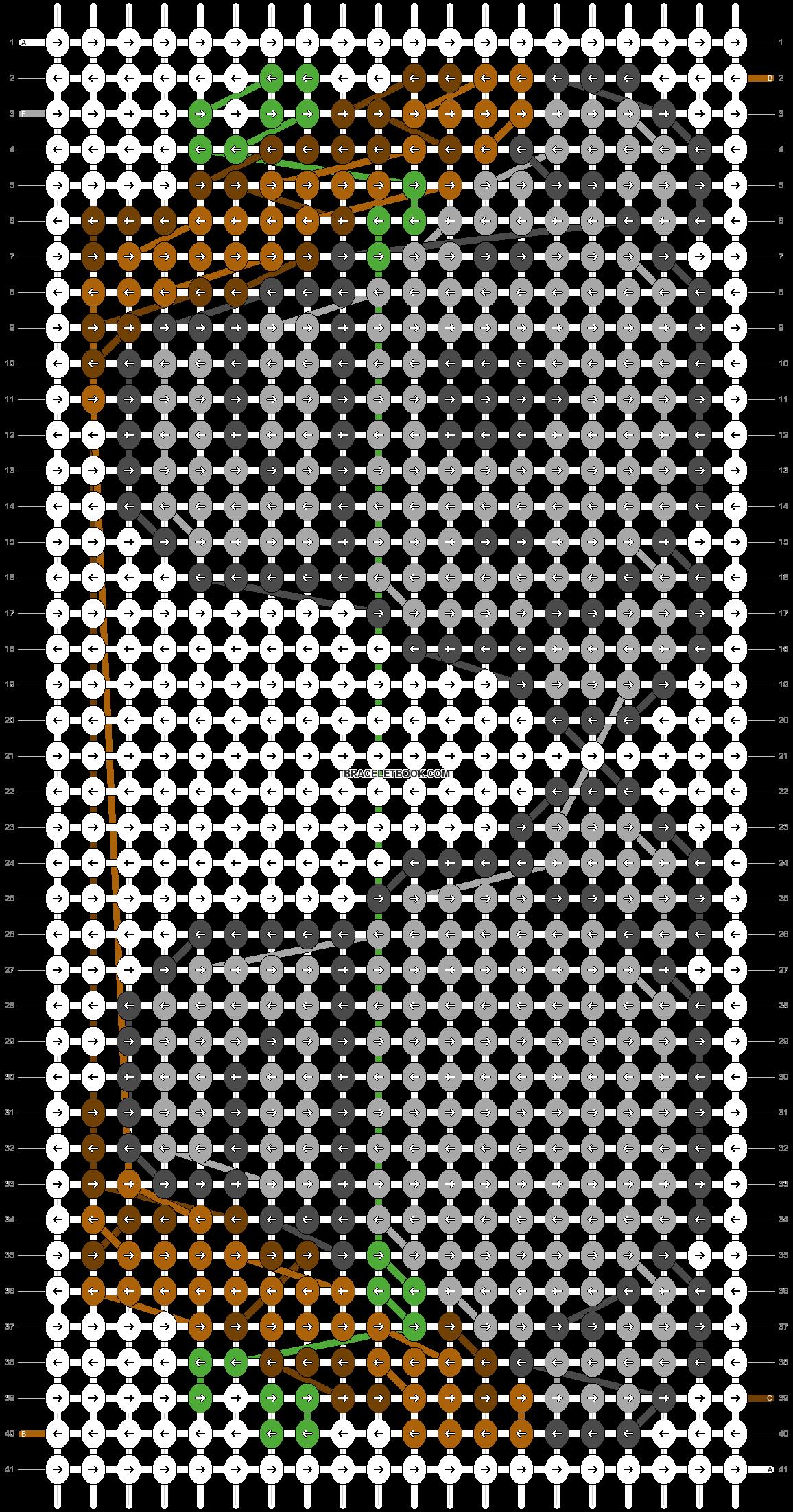 Alpha pattern #83187 pattern