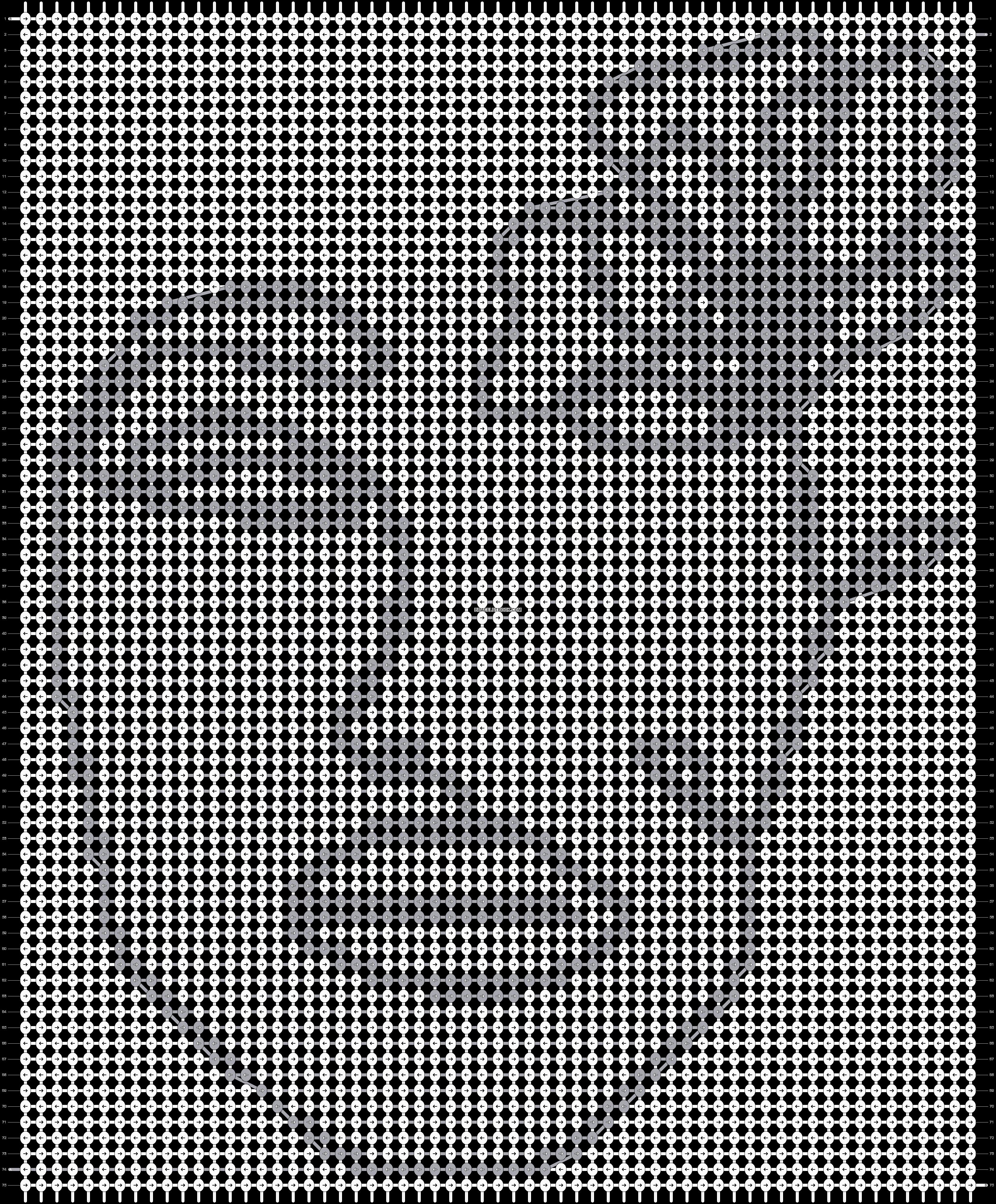 Alpha pattern #83201 pattern