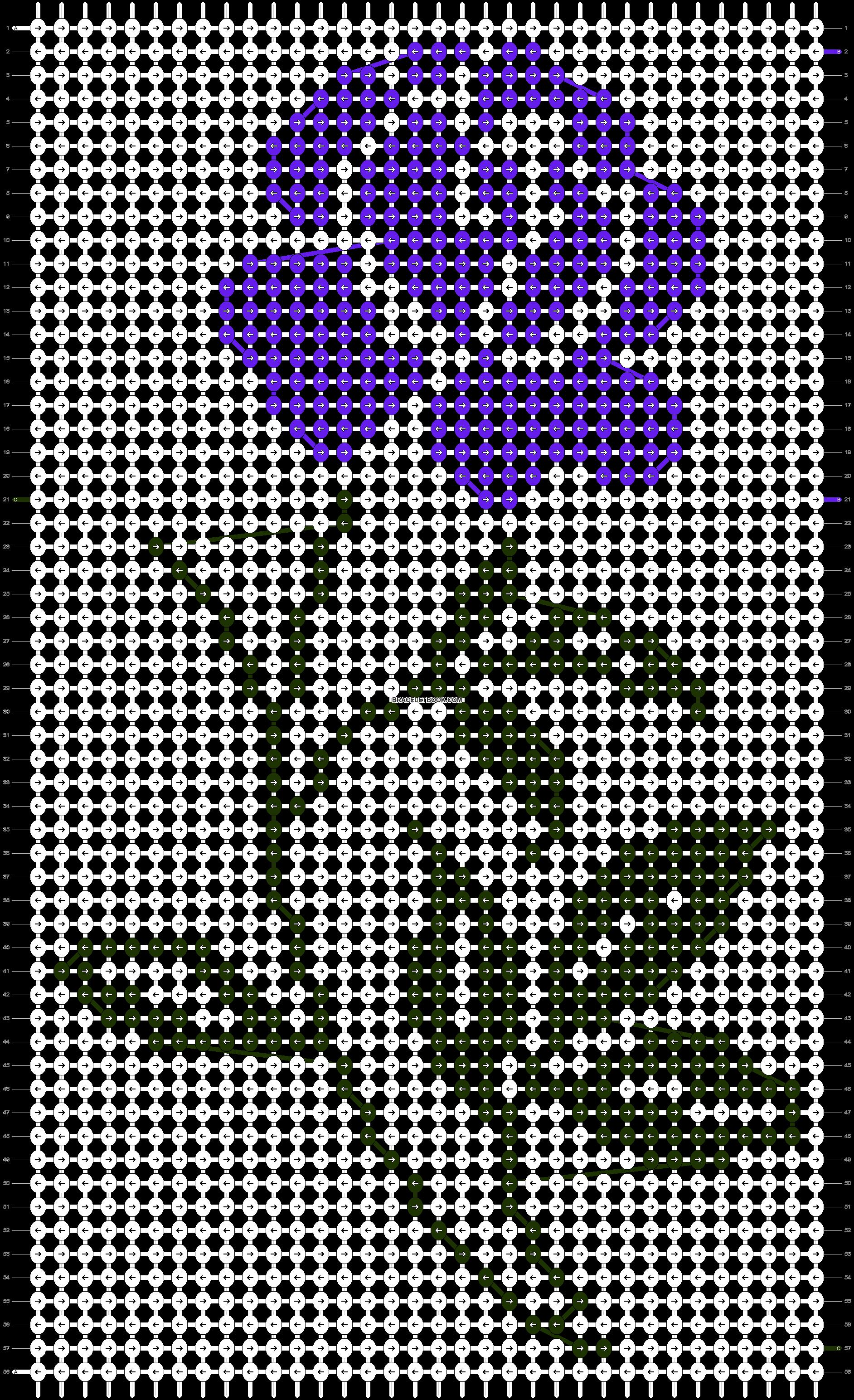 Alpha pattern #83202 pattern
