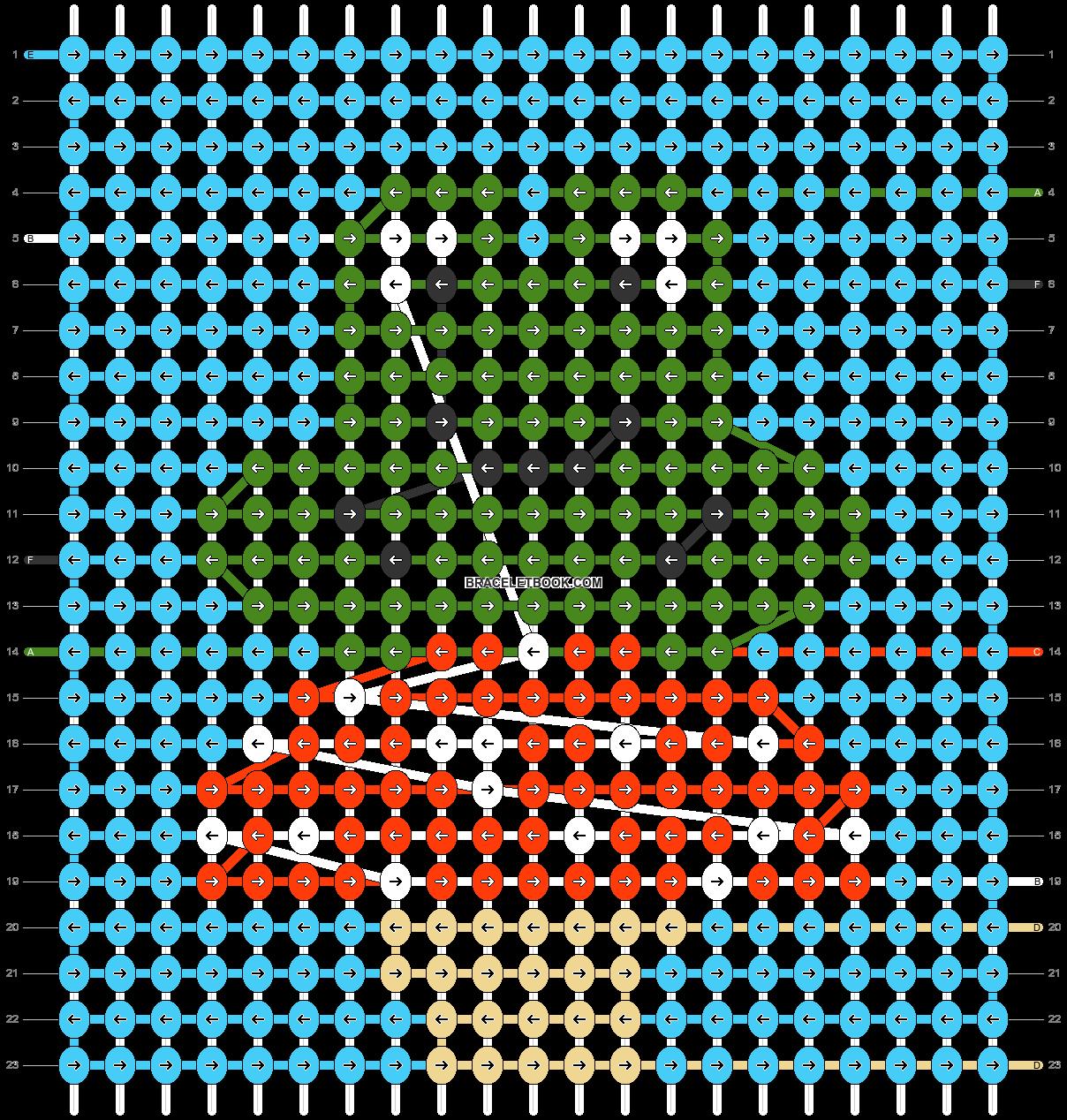 Alpha pattern #83204 pattern