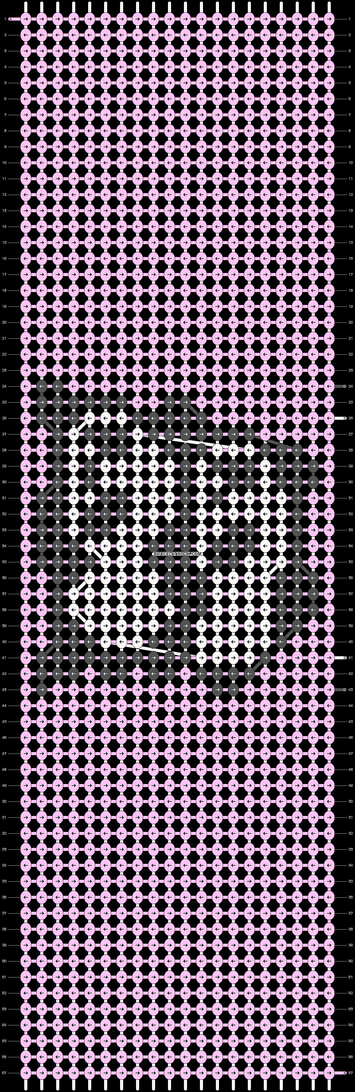 Alpha pattern #83210 pattern
