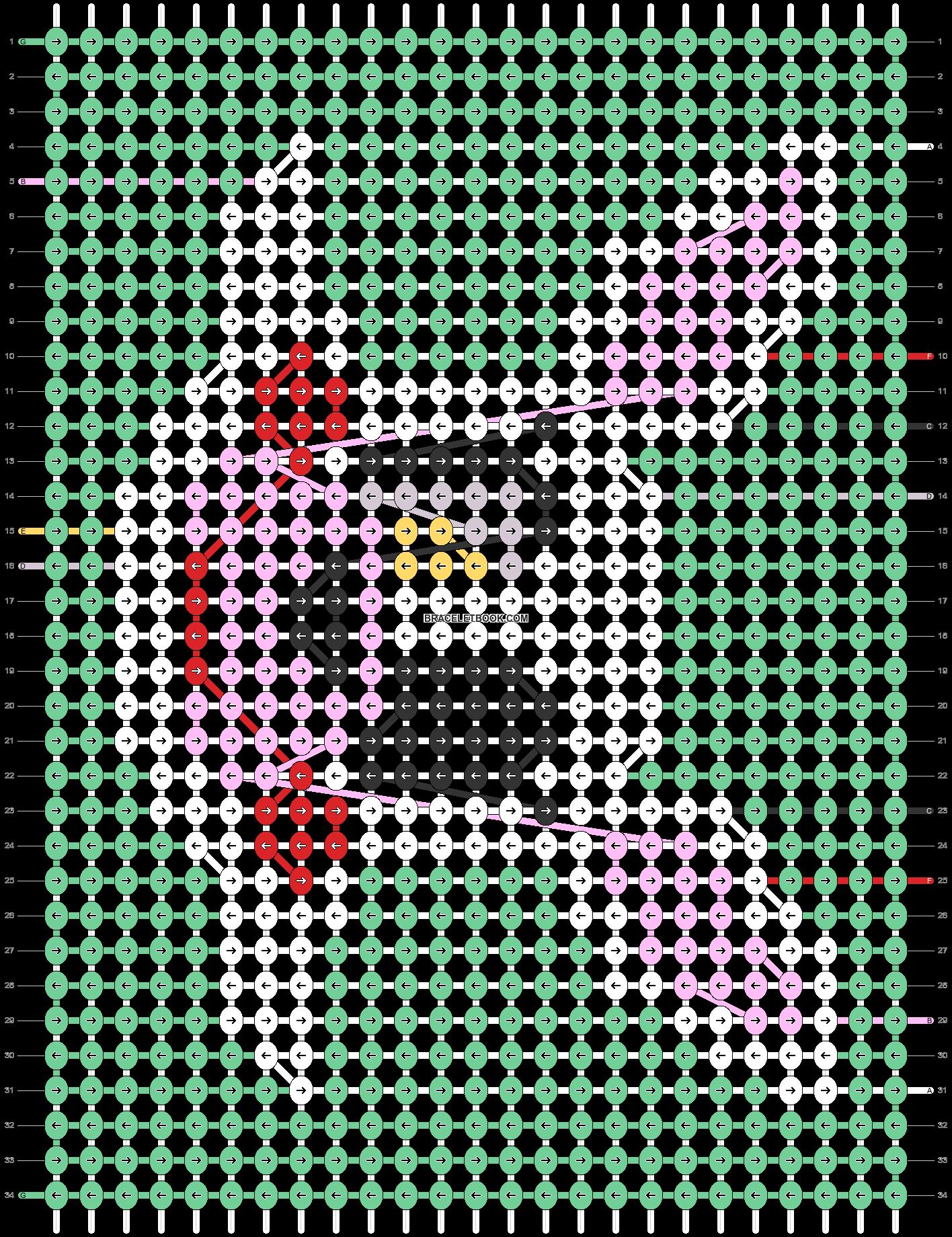 Alpha pattern #83213 pattern
