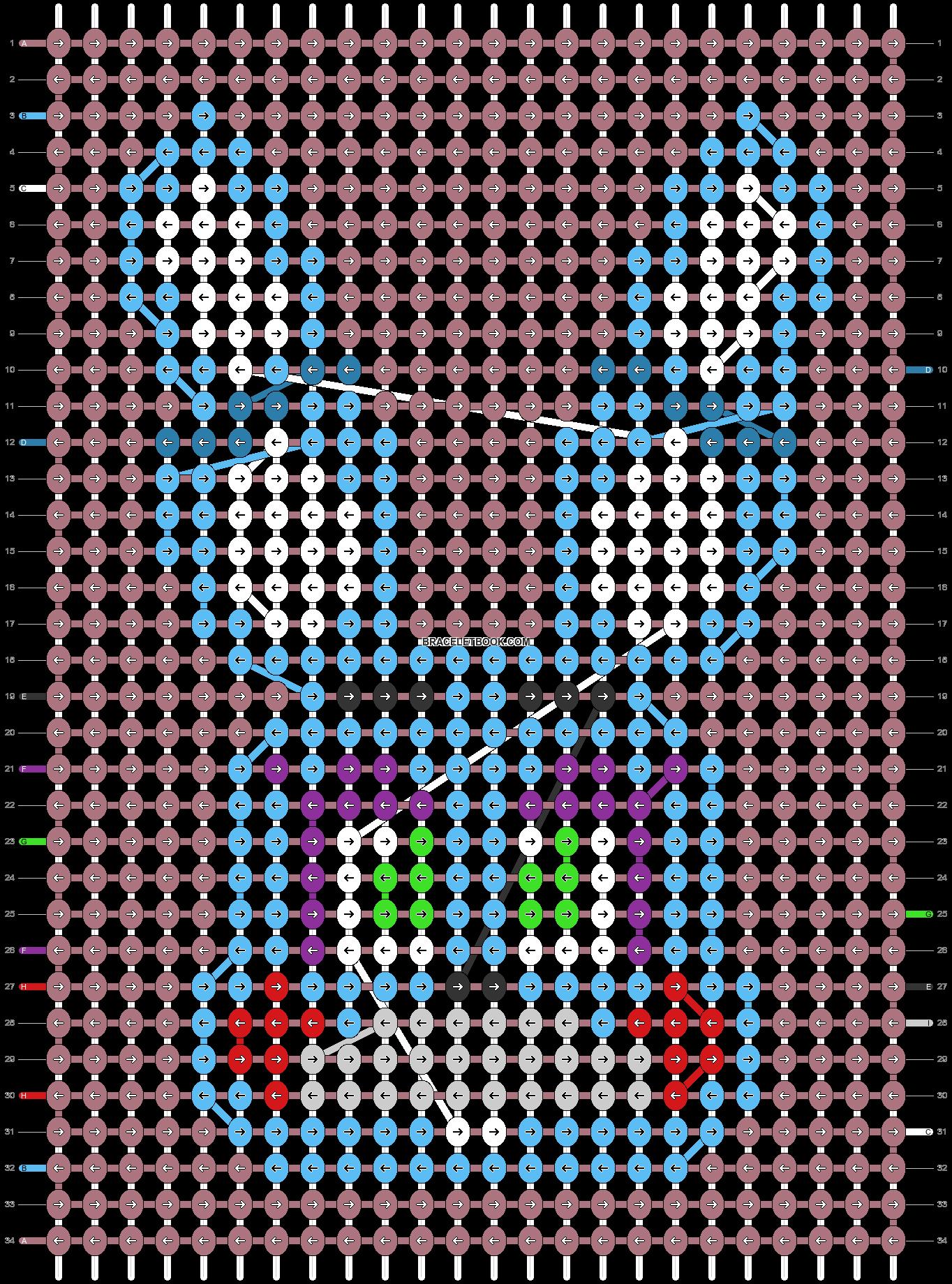 Alpha pattern #83215 pattern