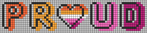 Alpha pattern #83235