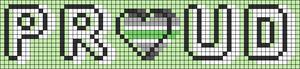 Alpha pattern #83237
