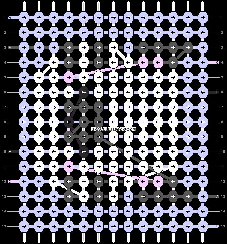 Alpha pattern #83263 pattern