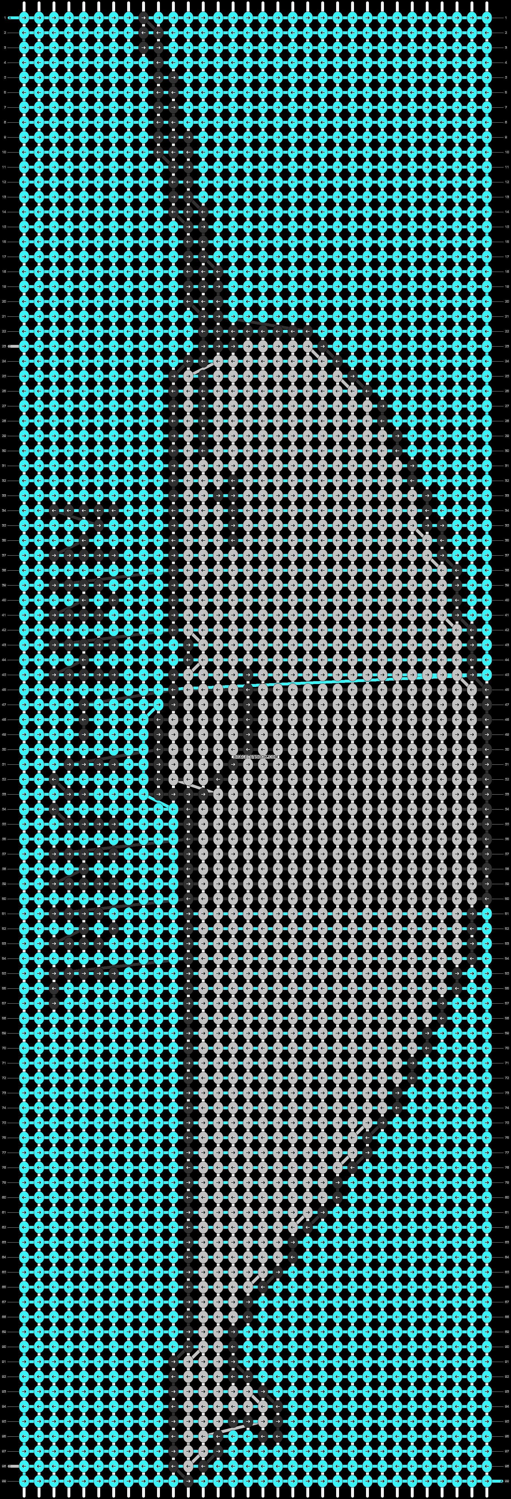 Alpha pattern #83328 pattern