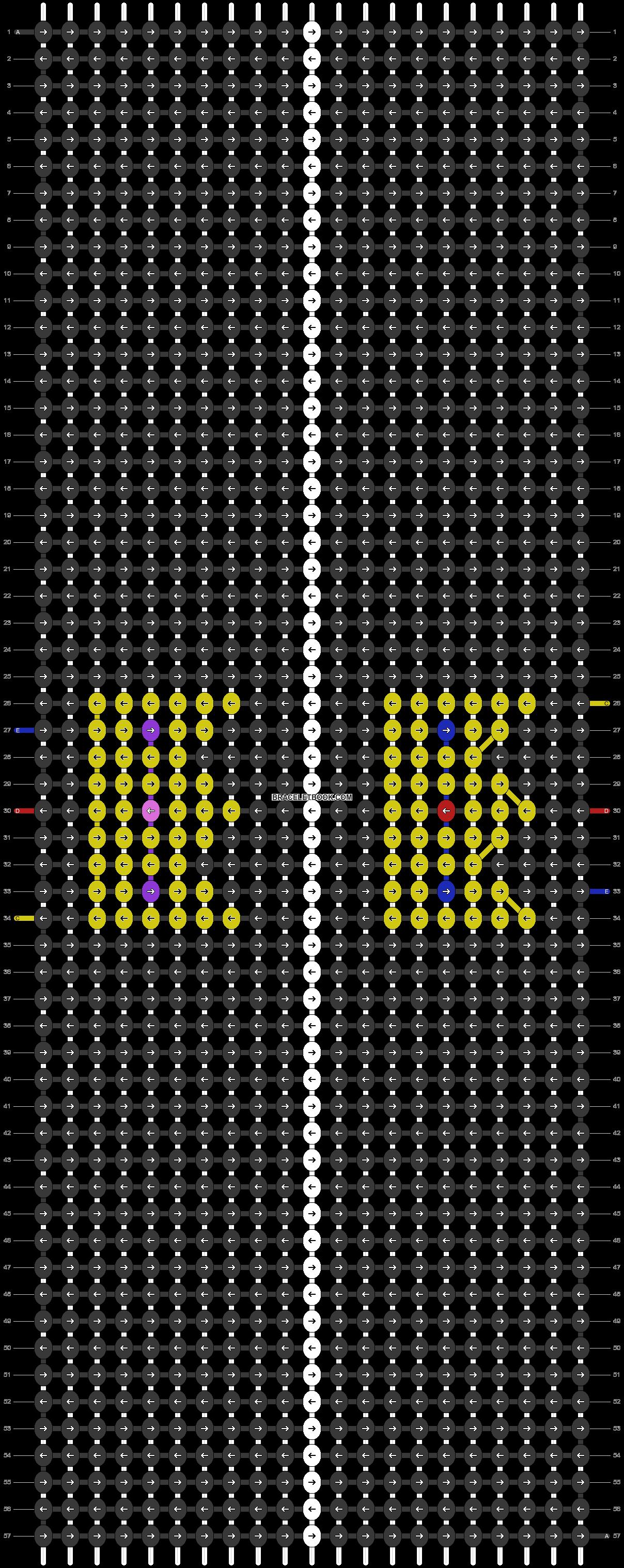 Alpha pattern #83335 pattern