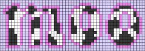 Alpha pattern #83347
