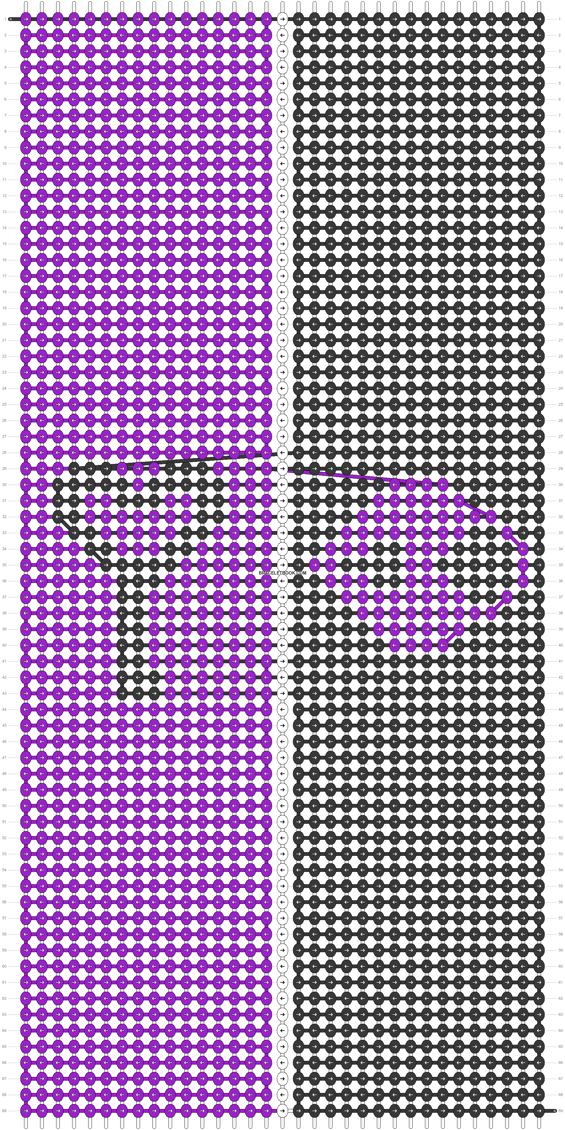 Alpha pattern #83389 pattern
