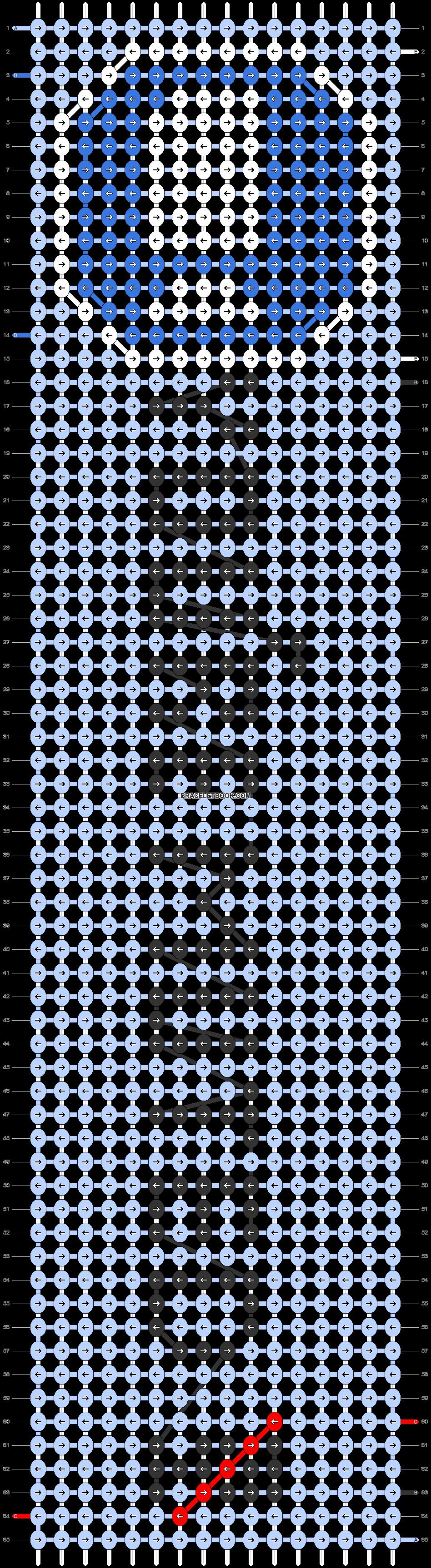 Alpha pattern #83397 pattern
