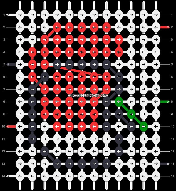 Alpha pattern #83405 pattern