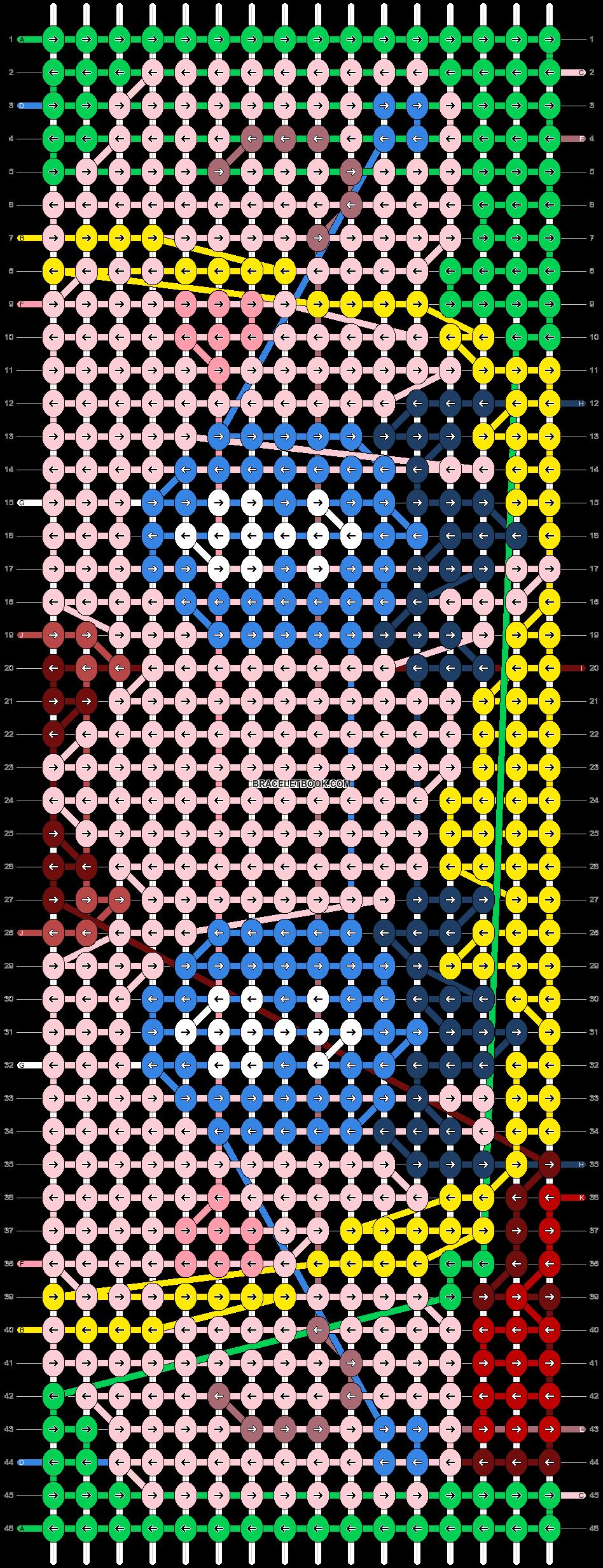 Alpha pattern #83412 pattern