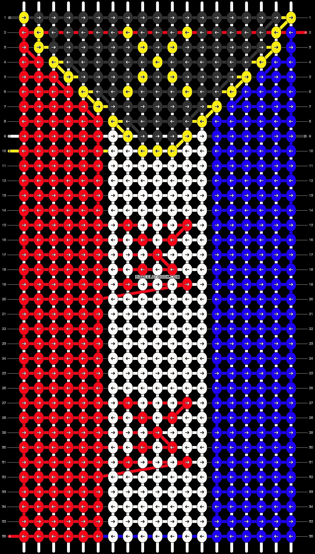 Alpha pattern #83414 pattern