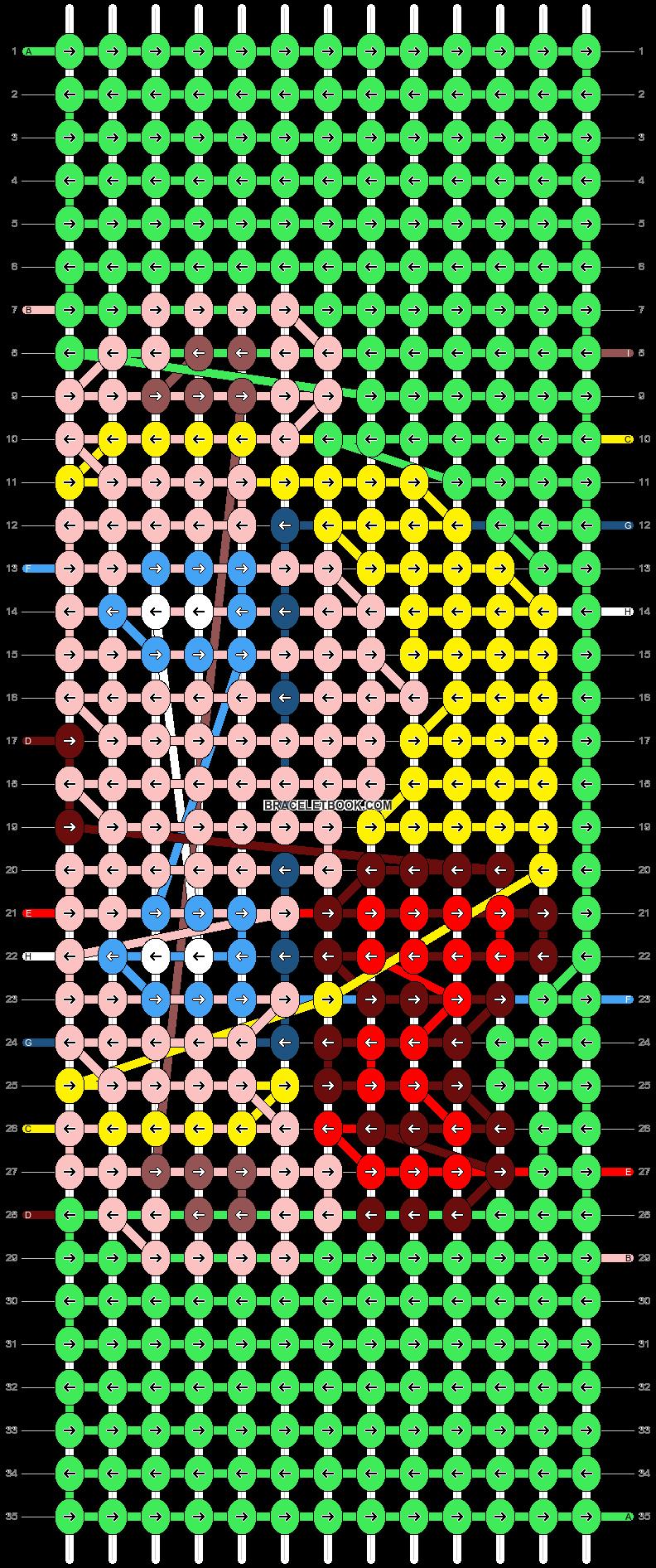 Alpha pattern #83456 pattern