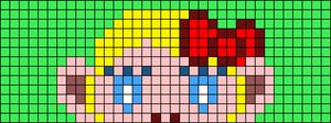 Alpha pattern #83456