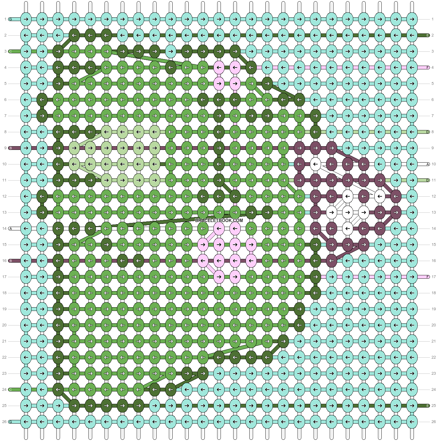 Alpha pattern #83470 pattern