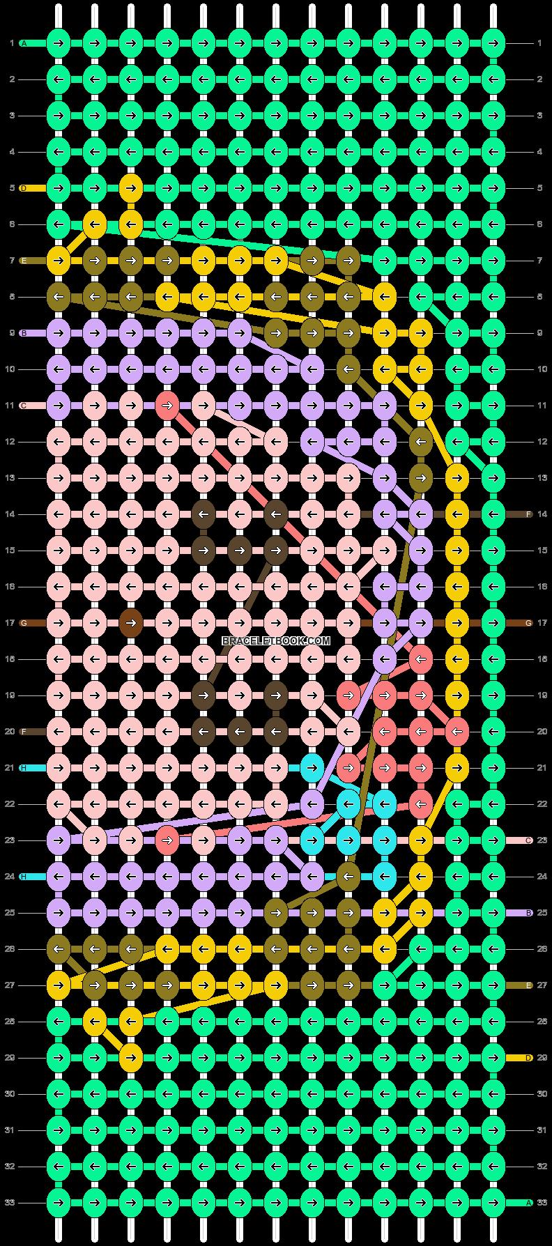 Alpha pattern #83474 pattern