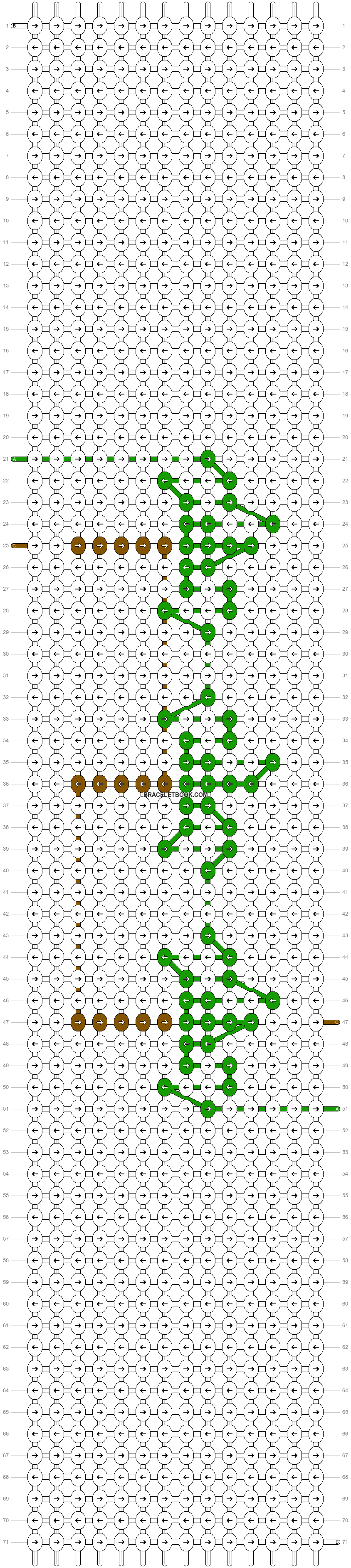 Alpha pattern #83476 pattern