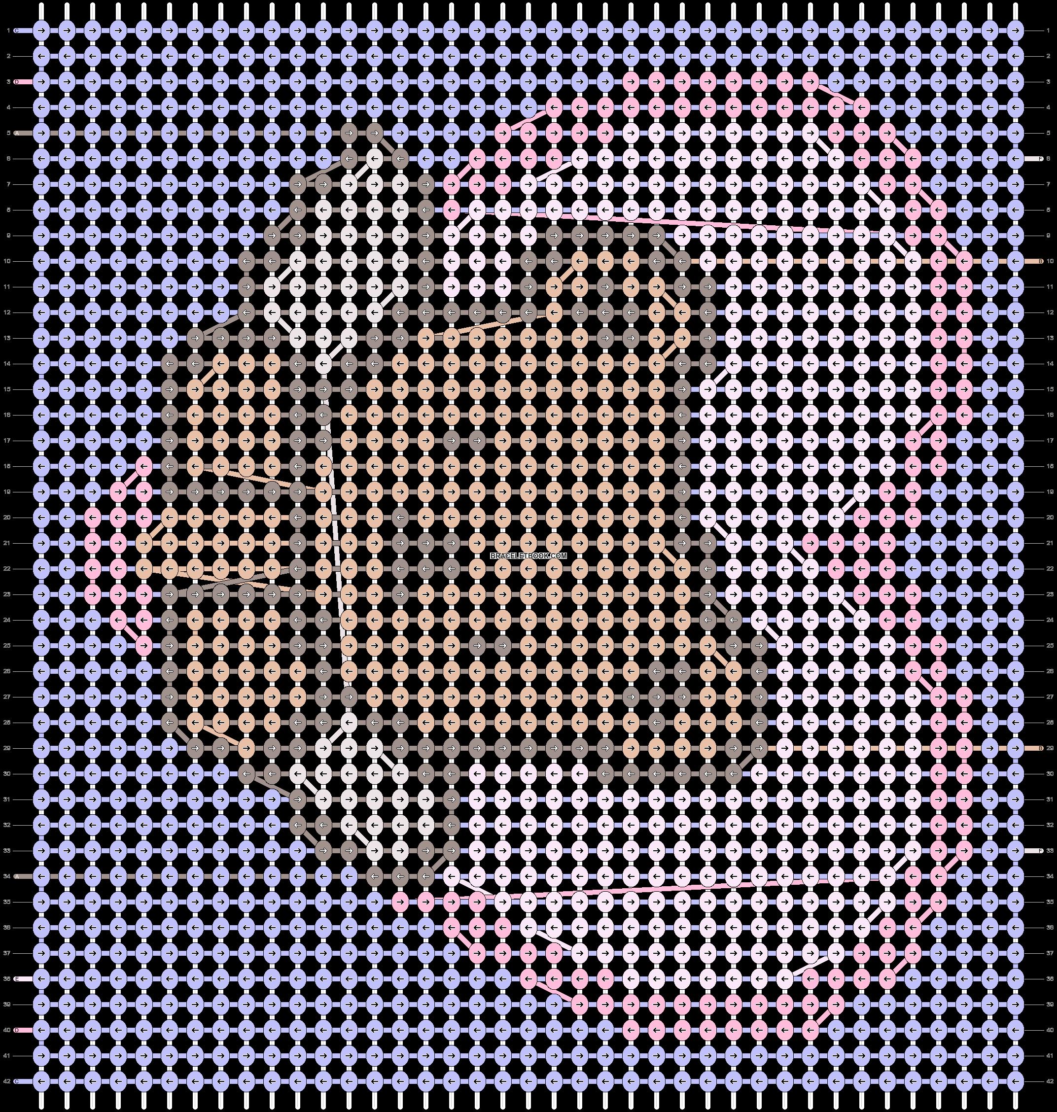 Alpha pattern #83520 pattern