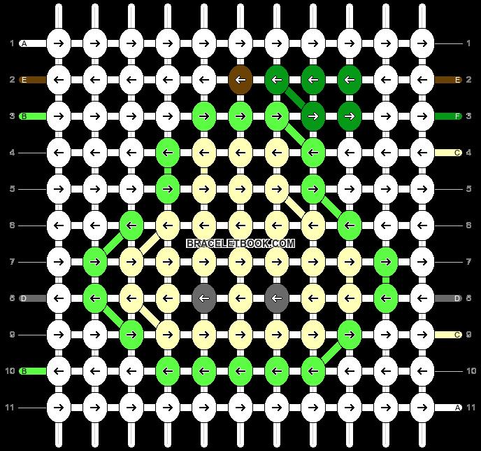 Alpha pattern #83521 pattern