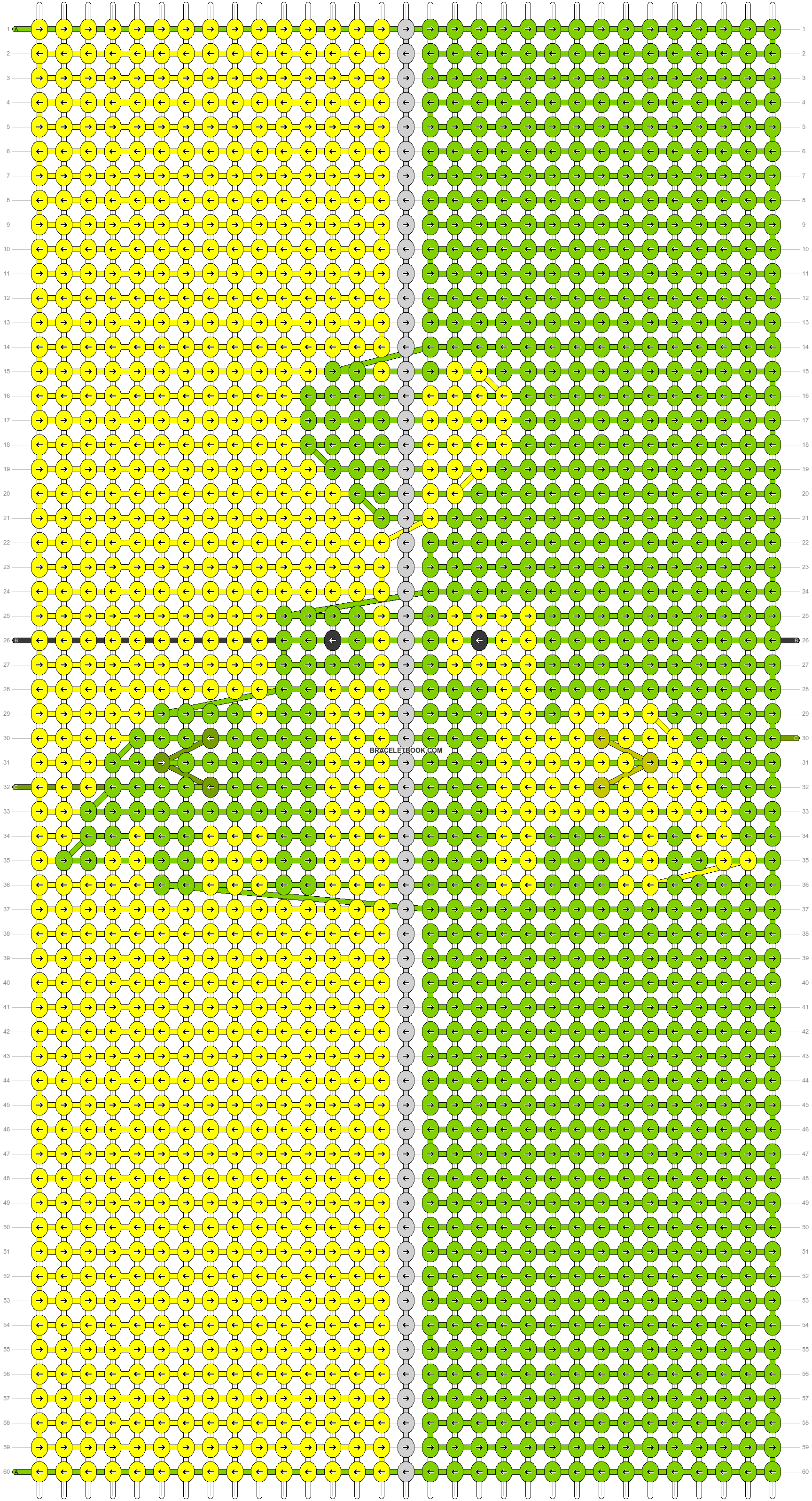 Alpha pattern #83535 pattern