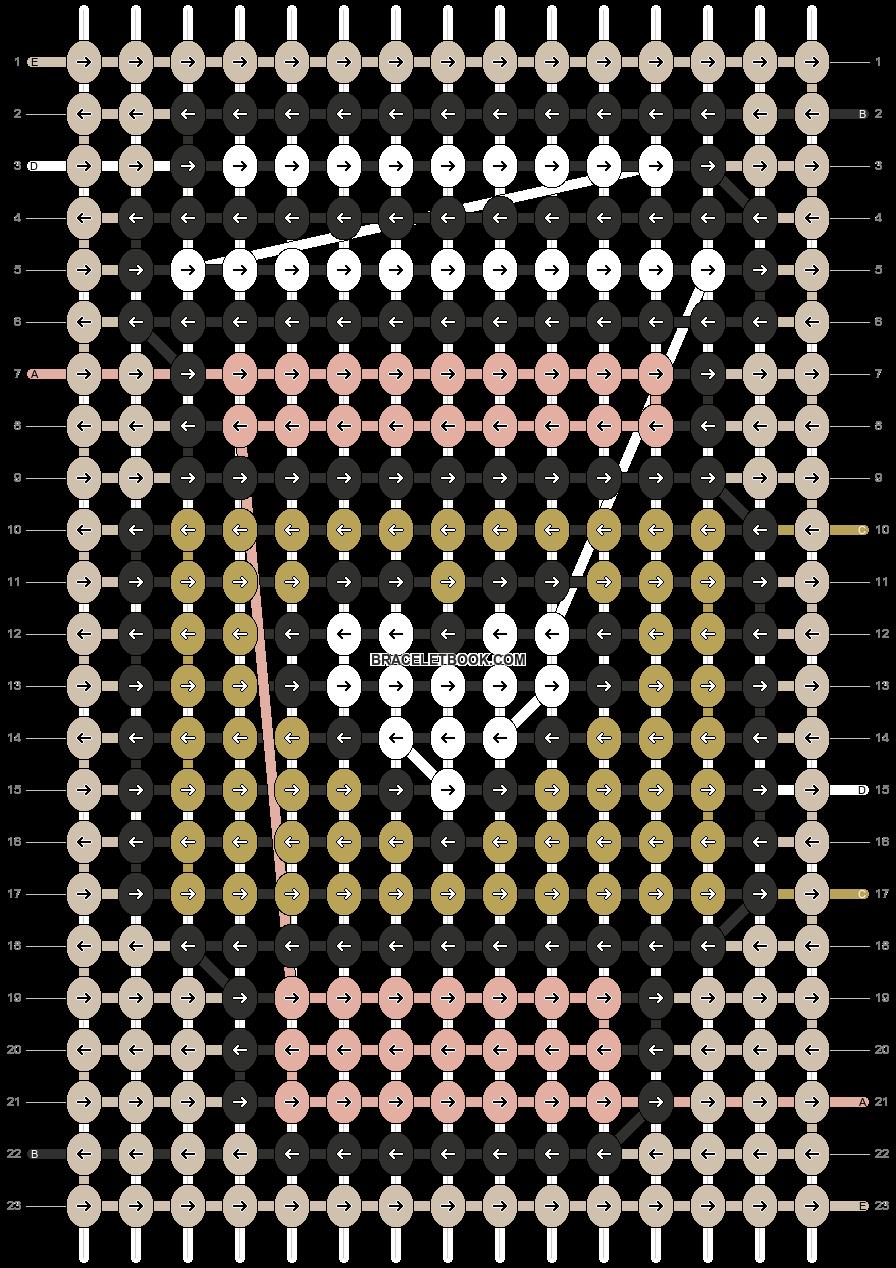Alpha pattern #83536 pattern