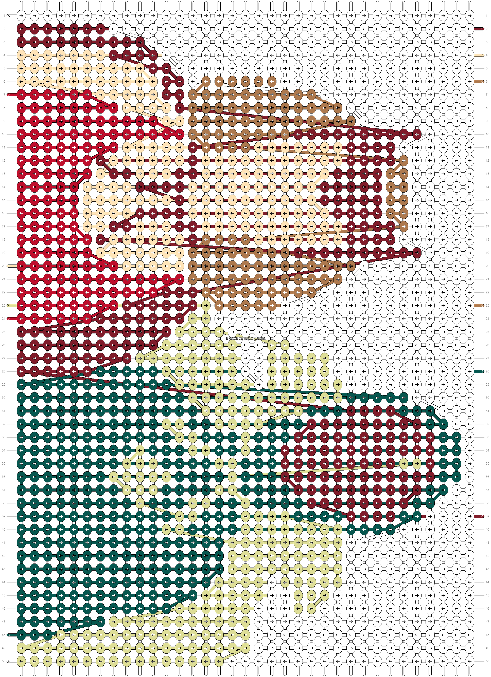 Alpha pattern #83558 pattern