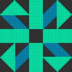 Alpha pattern #83561