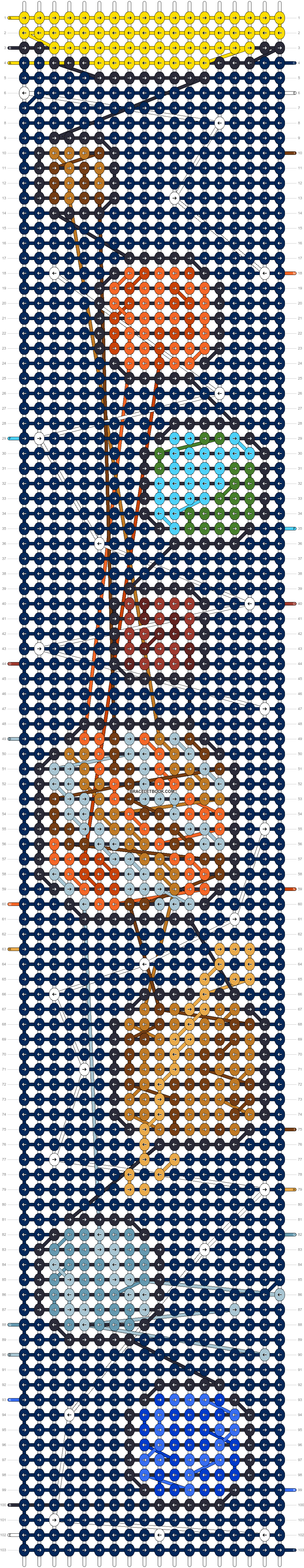 Alpha pattern #83613 pattern