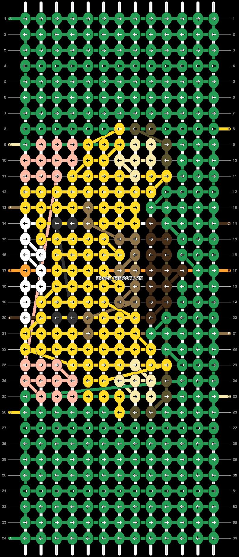 Alpha pattern #83616 pattern