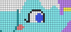 Alpha pattern #83618