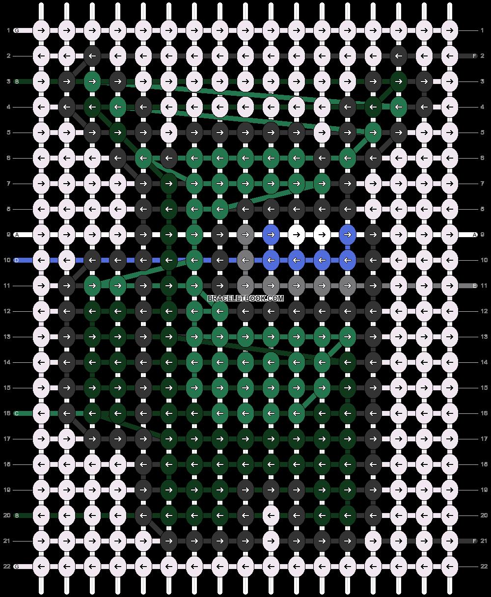 Alpha pattern #83630 pattern
