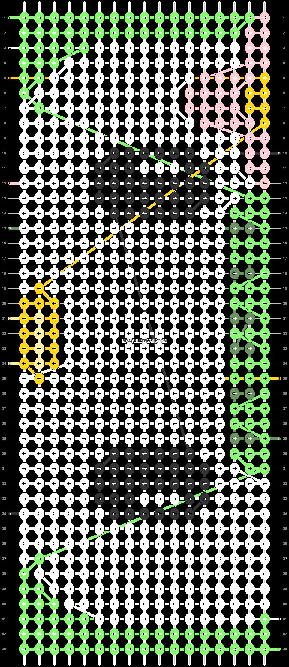 Alpha pattern #83663 pattern
