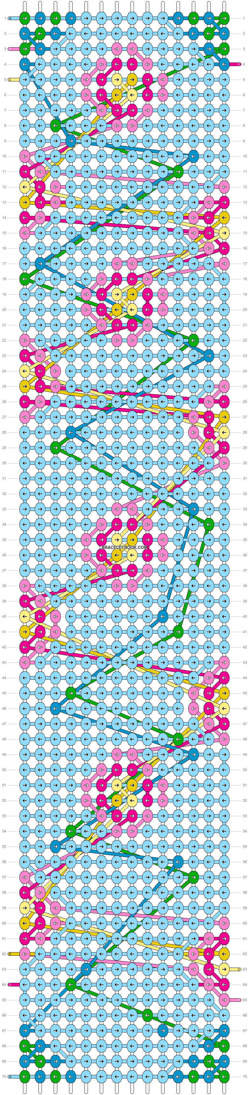 Alpha pattern #83665 pattern