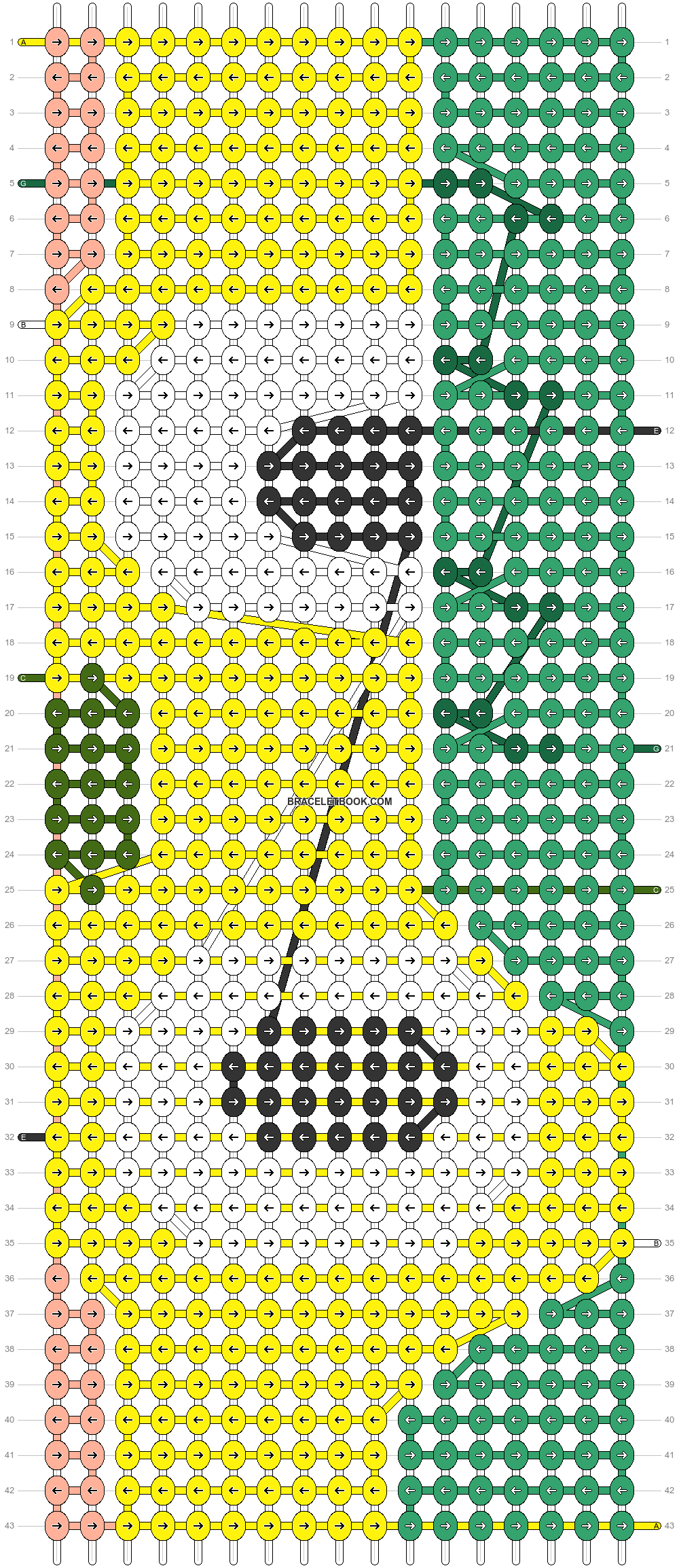 Alpha pattern #83677 pattern