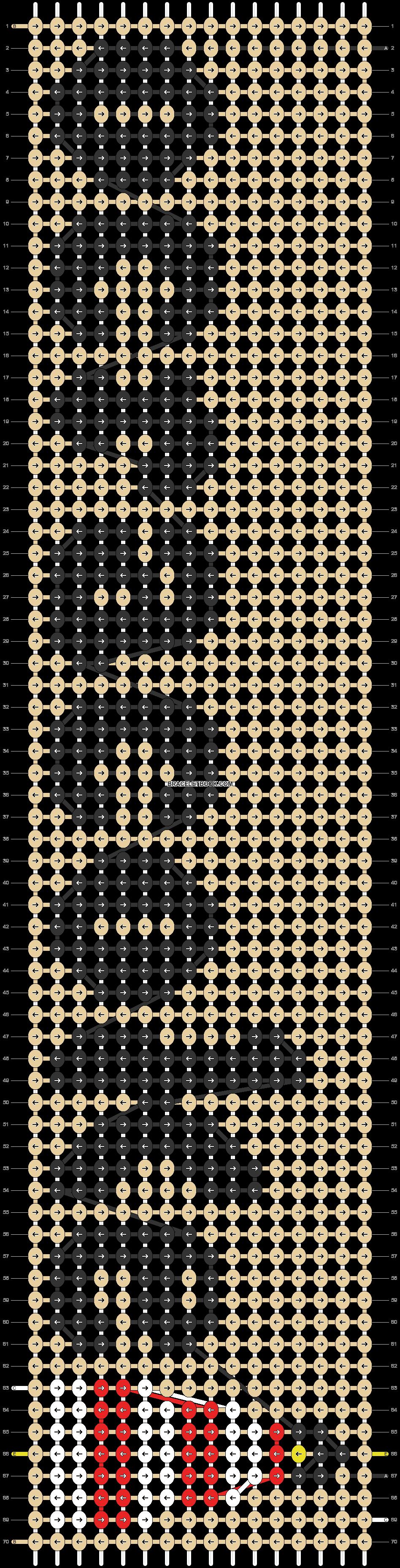 Alpha pattern #83682 pattern
