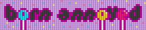 Alpha pattern #83698