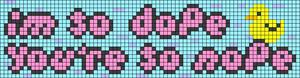 Alpha pattern #83700