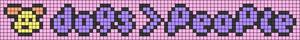 Alpha pattern #83704