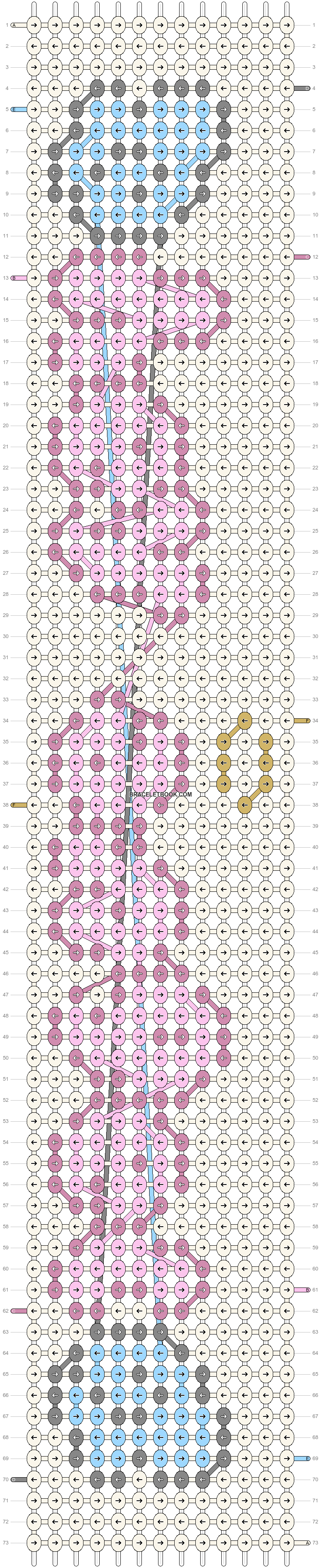Alpha pattern #83707 pattern